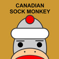 Canadian Sock Monkey